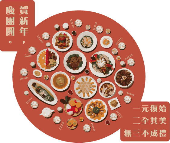 2018賀新年,慶團圓新春活動