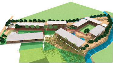 與「Ekumattora職業訓練中心」合作建立「創作設計課程」