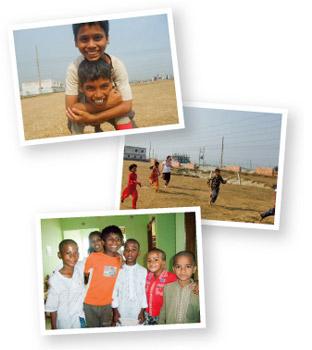 已推行了讓孩童學習認字的「藍天教室」以及提供全天候停留照護、讓街童共同生活的「中途之家」等社福計畫,到2010年底共約有20名街童居住在「中途之家」