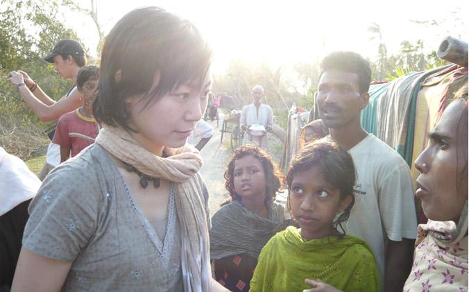 2007年11月—支援熱帶風暴「錫德」災區活動