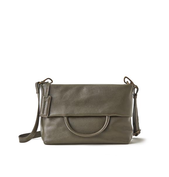 Camelia 3 way bag S 壓紋皮革三用包