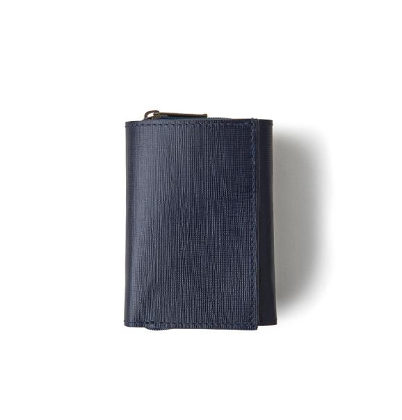 Soft Emboss 3 Fold Wallet