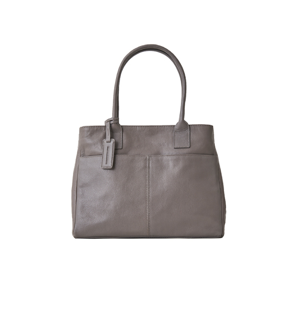 Leather A4 Box Tote A4皮革方正托特包