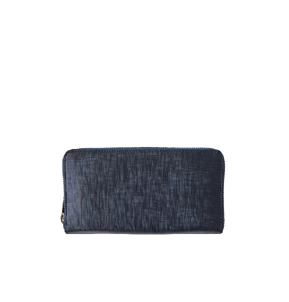 Soft Emboss Round Long Wallet