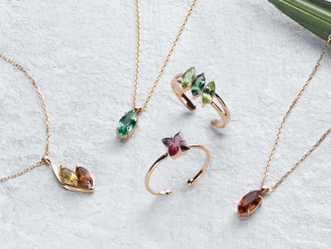 斯里蘭卡新品登場!以精緻工藝呈現美麗寶石系列!