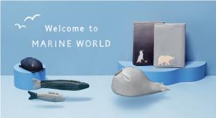 可愛海洋動物皮革小物清爽上市!