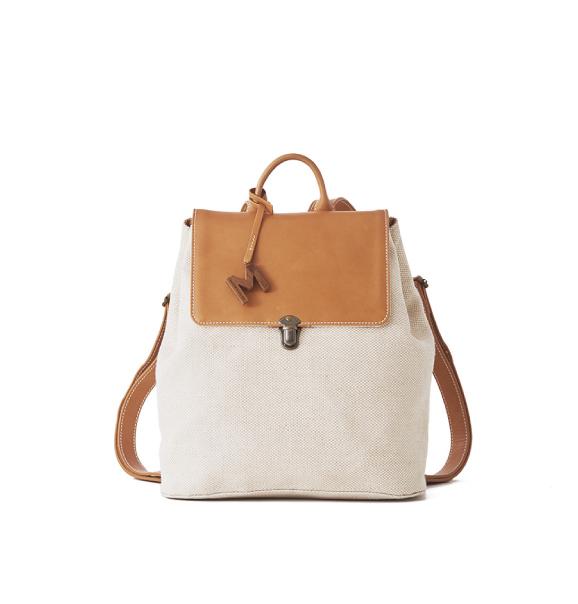 Airy Jute Backpack輕盈黃麻後背包