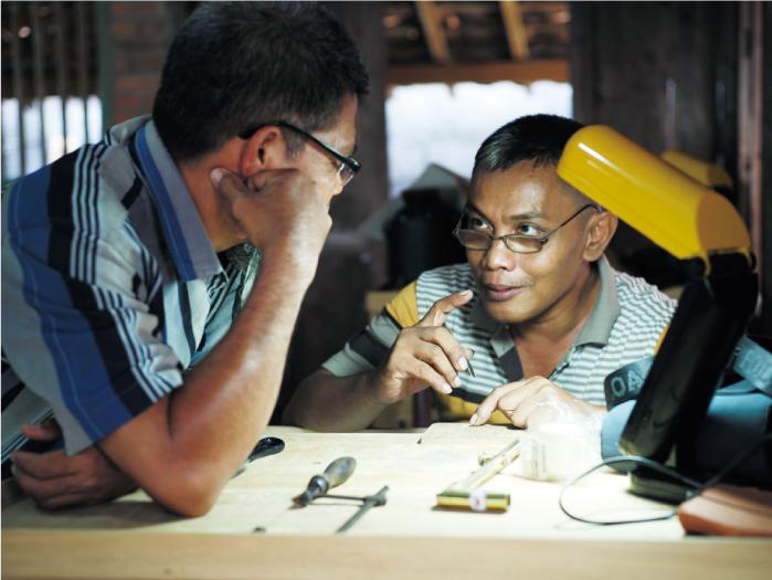 【產地日誌】印尼工坊的現況  – 教學相長的手作過程 –