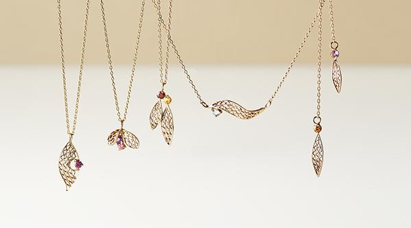 金工拉絲與彩色天然石的相遇-Filigreeflower珠寶系列上市!