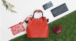 「輕」的品味皮革包,創造輕盈夏日生活!