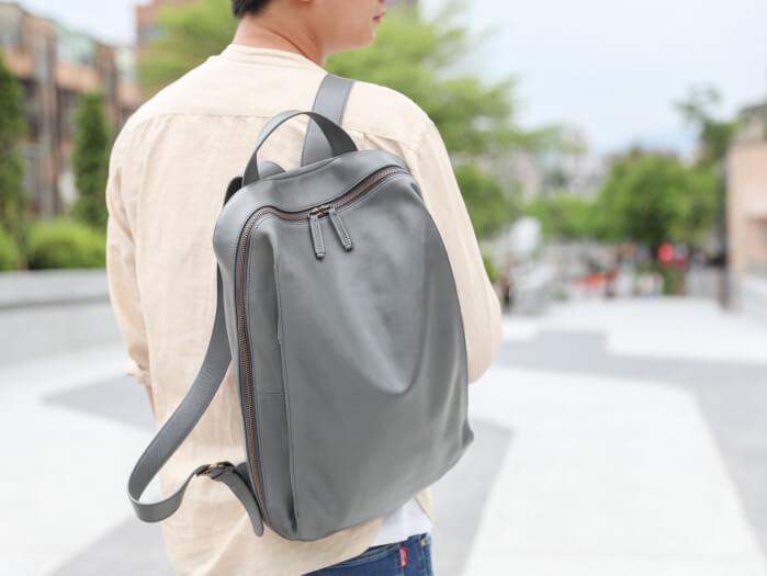 【Staff 使用推薦專欄】符合人體工學的皮革後背包,為生活減輕負擔!
