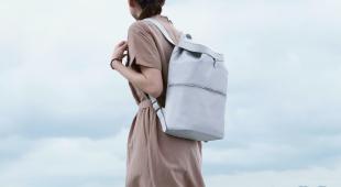雨天或陰天輕鬆使用!雨晴系列防潑水皮革後背包上市!