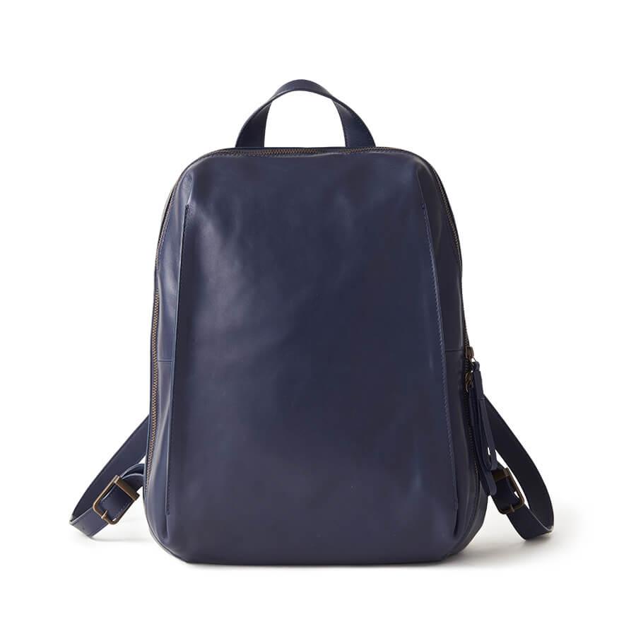 Kazematou Backpack L 風盈系列皮革後背包