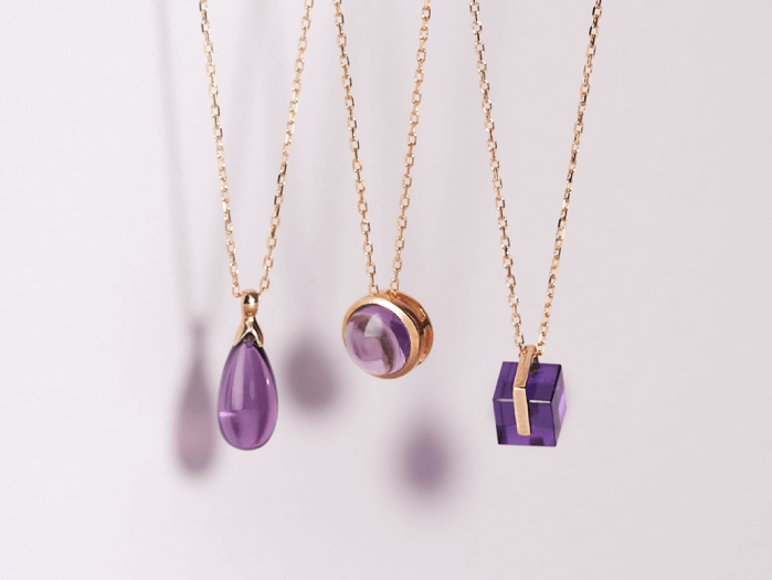 2月誕生石「紫水晶」