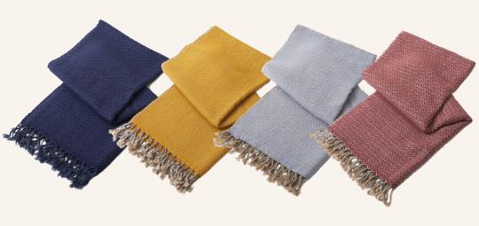 Rough Knitting Wool Muffler