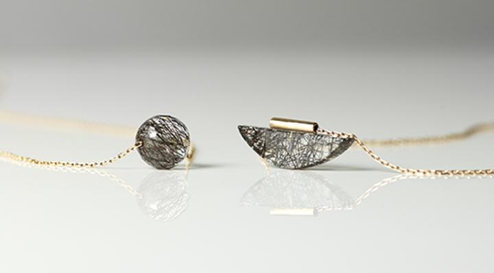 全新珠寶系列Black Rutilated Quartz黑髮晶正式上市!