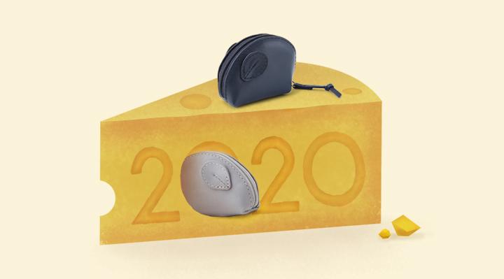 開心鼠了,好運好事數不盡!2020新年特別活動登場